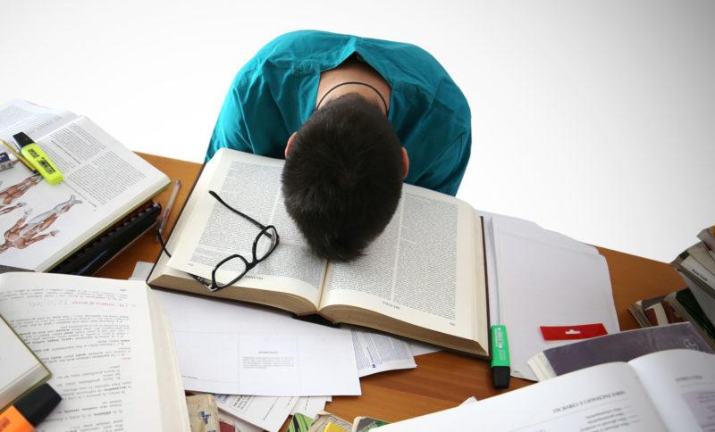 studentischer Stress